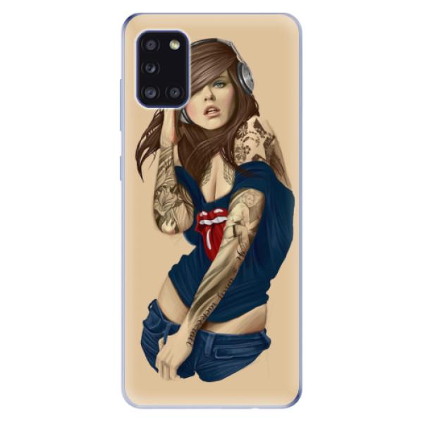 Odolné silikonové pouzdro iSaprio - Girl 03 - Samsung Galaxy A31