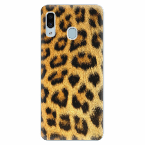 Silikonové pouzdro iSaprio - Jaguar Skin - Samsung Galaxy A30