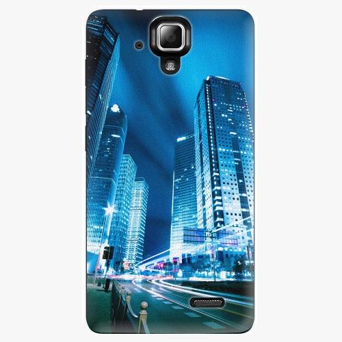 Plastový kryt iSaprio - Night City Blue - Lenovo A536