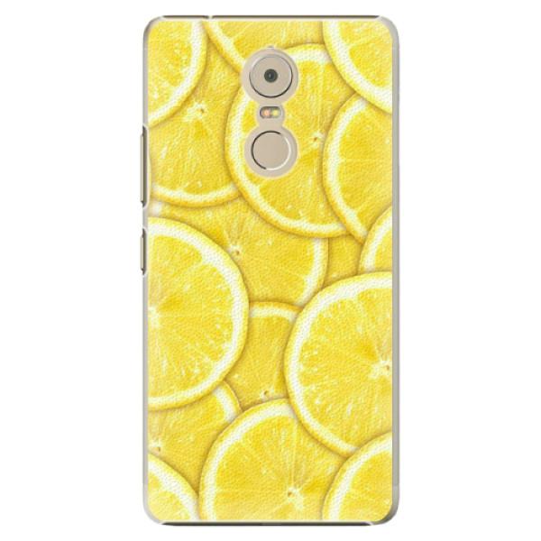 Plastové pouzdro iSaprio - Yellow - Lenovo K6 Note