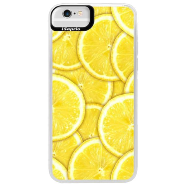 Neonové pouzdro Blue iSaprio - Yellow - iPhone 6 Plus/6S Plus