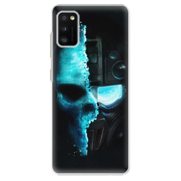 Plastové pouzdro iSaprio - Roboskull - Samsung Galaxy A41