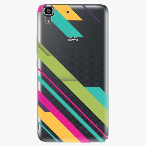 Plastový kryt iSaprio - Color Stripes 03 - Huawei Ascend Y6