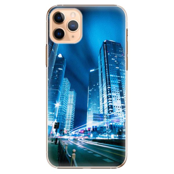 Plastové pouzdro iSaprio - Night City Blue - iPhone 11 Pro Max