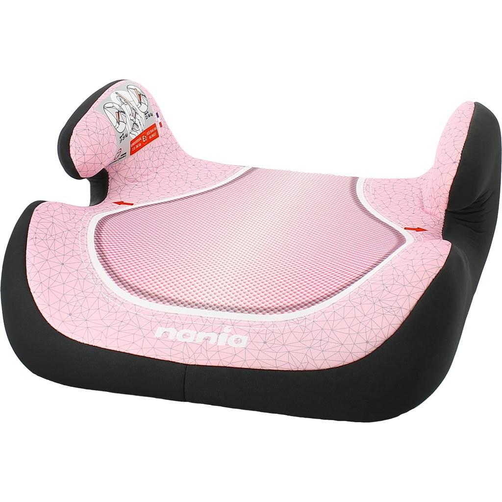 Autosedačka-podsedák Nania Topo Comfort Skyline 2017 pink - růžová