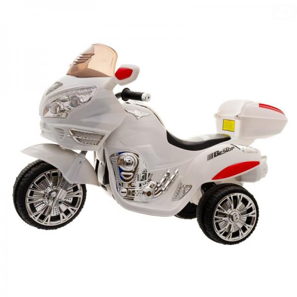 Euro Baby Akumulatorový motocykl - bílý