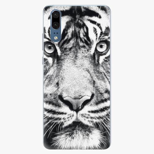 Silikonové pouzdro iSaprio - Tiger Face - Huawei P20