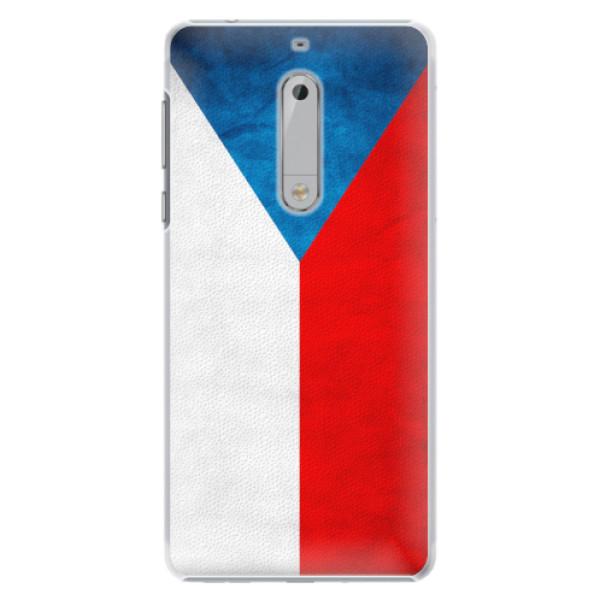 Plastové pouzdro iSaprio - Czech Flag - Nokia 5