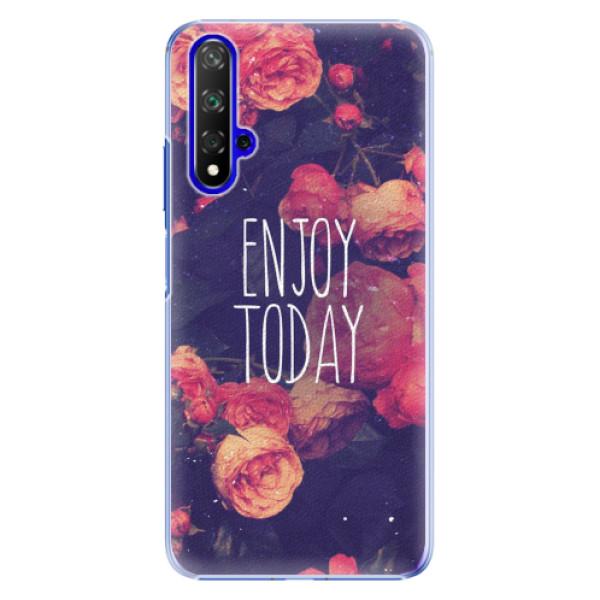 Plastové pouzdro iSaprio - Enjoy Today - Huawei Honor 20