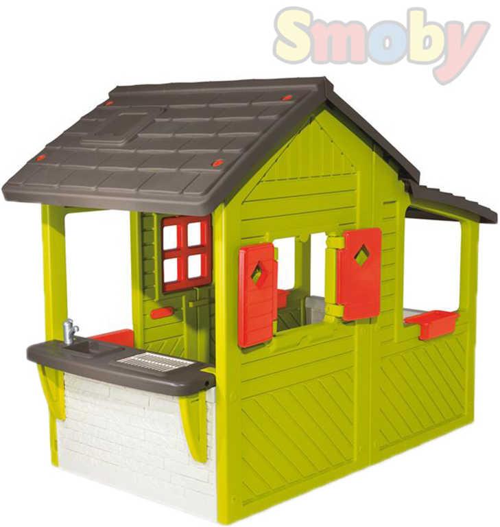 SMOBY 310300 Domeček Neo Floralie plastový zahradní