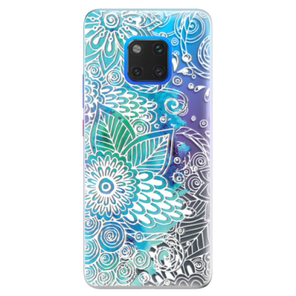 Silikonové pouzdro iSaprio - Lace 03 - Huawei Mate 20 Pro