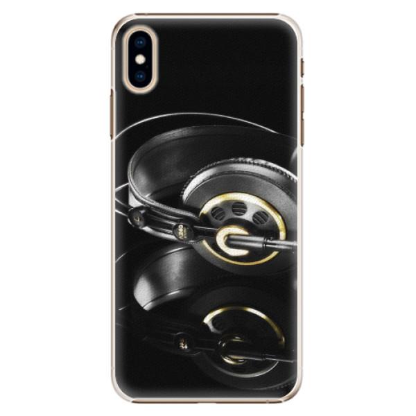 Plastové pouzdro iSaprio - Headphones 02 - iPhone XS Max