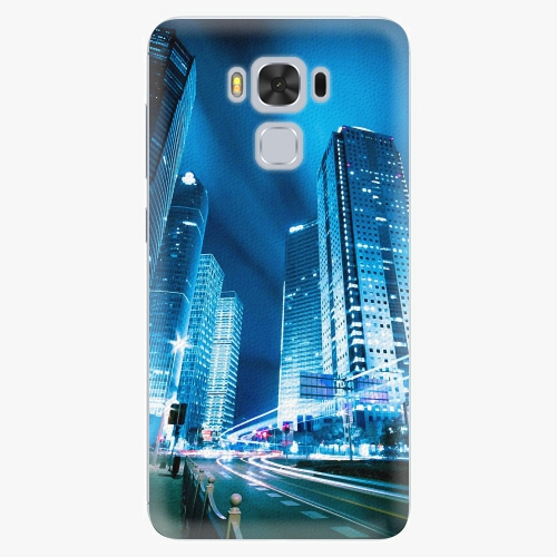Plastový kryt iSaprio - Night City Blue - Asus ZenFone 3 Max ZC553KL