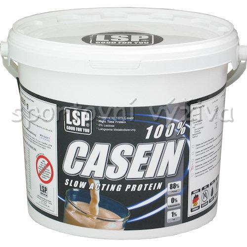 Časfitness proteinový koncentrát s obsahem 100% caseinu vápenatého 100% Casein