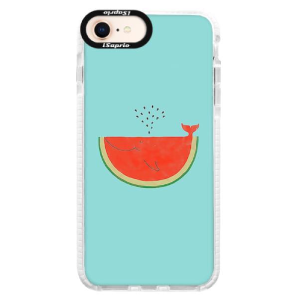 Silikonové pouzdro Bumper iSaprio - Melon - iPhone 8
