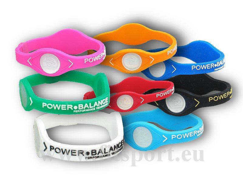 Power Balance silikonový - náramek-m-ruzovo-bily