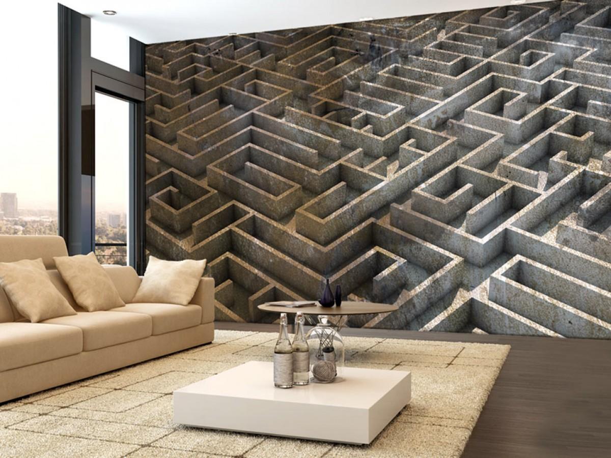 3D tapeta labyrint II