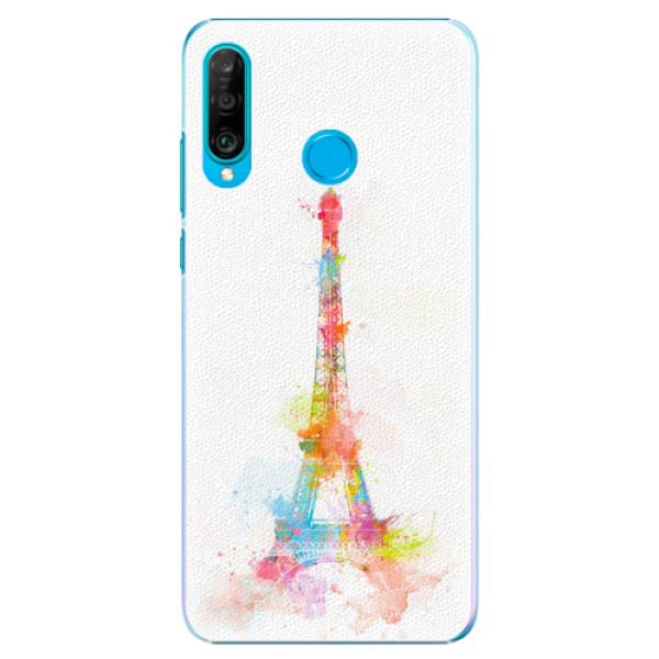 Plastové pouzdro iSaprio - Eiffel Tower - Huawei P30 Lite