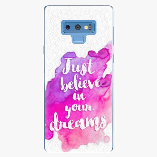 Plastový kryt iSaprio - Believe - Samsung Galaxy Note 9