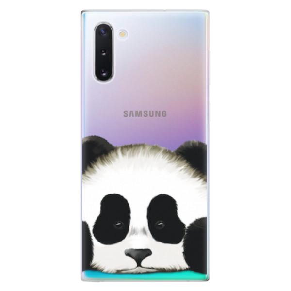 Odolné silikonové pouzdro iSaprio - Sad Panda - Samsung Galaxy Note 10