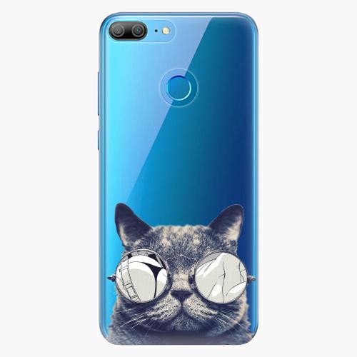 Plastový kryt iSaprio - Crazy Cat 01 - Huawei Honor 9 Lite