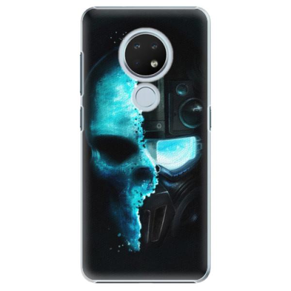 Plastové pouzdro iSaprio - Roboskull - Nokia 6.2