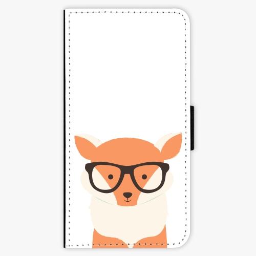 Flipové pouzdro iSaprio - Orange Fox - Samsung Galaxy J5 2017