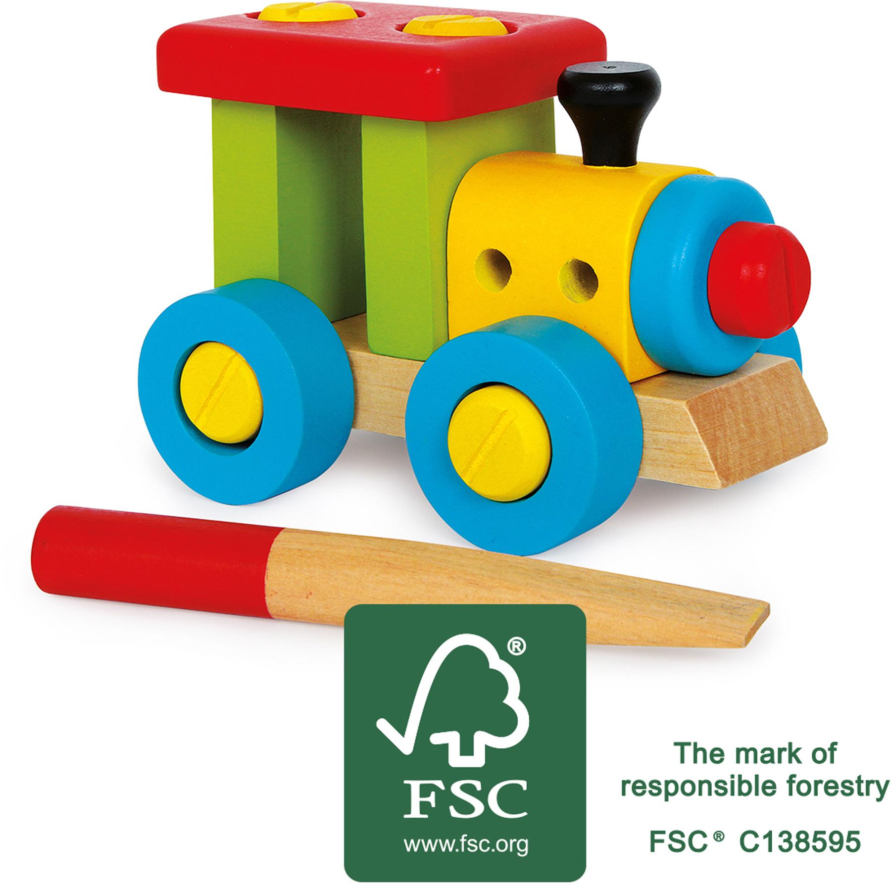 Small Foot Konstrukční vlak