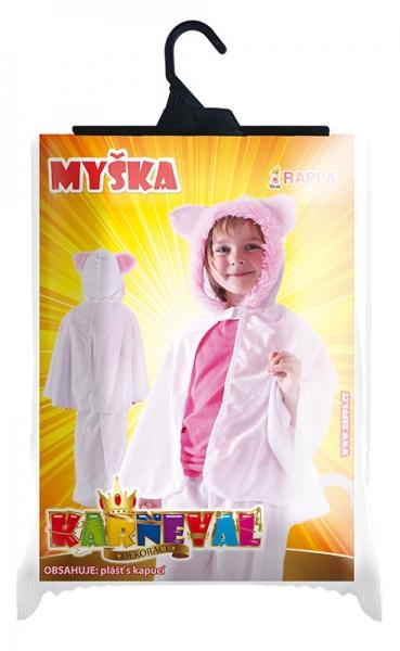 Karnevalový kostým myška - plášť
