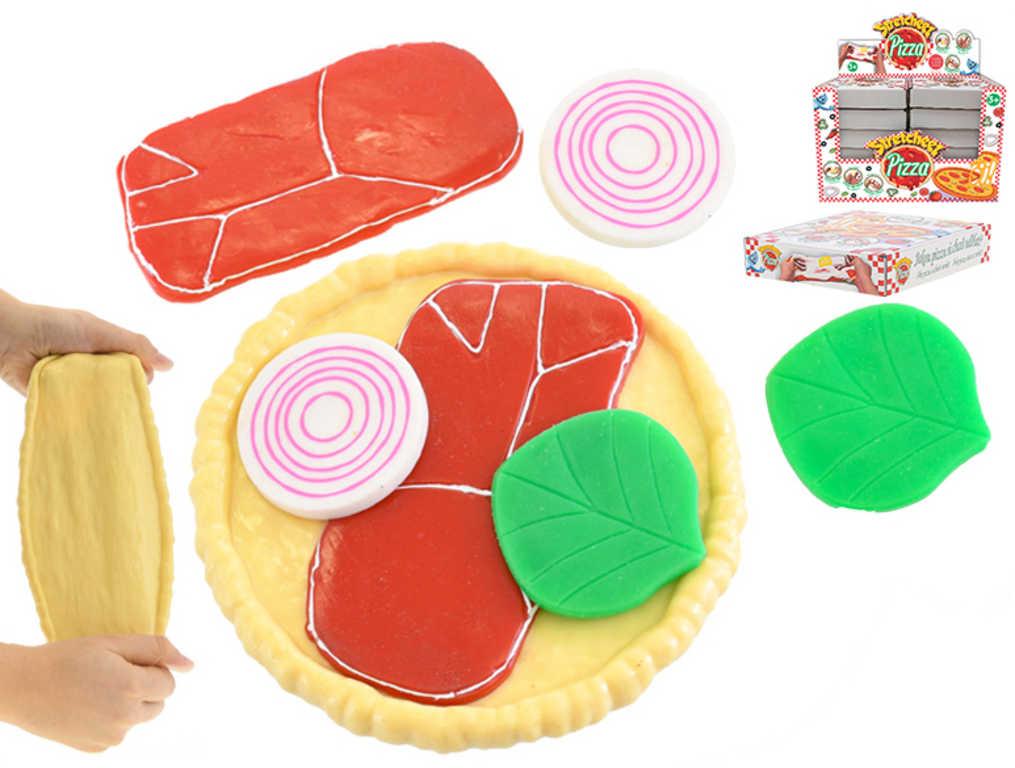 Výroba pizzy strečový herní set s doplňky 12 druhů v krabici