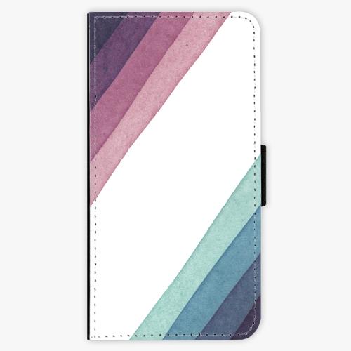 Flipové pouzdro iSaprio - Glitter Stripes 01 - Sony Xperia XZ