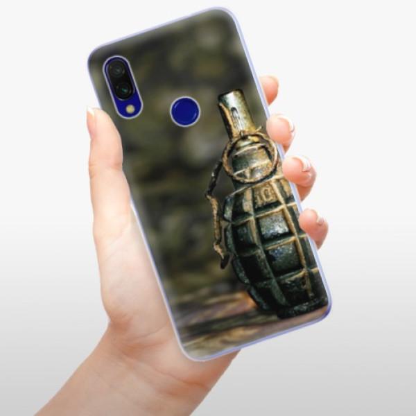 Odolné silikonové pouzdro iSaprio - Grenade - Xiaomi Redmi 7