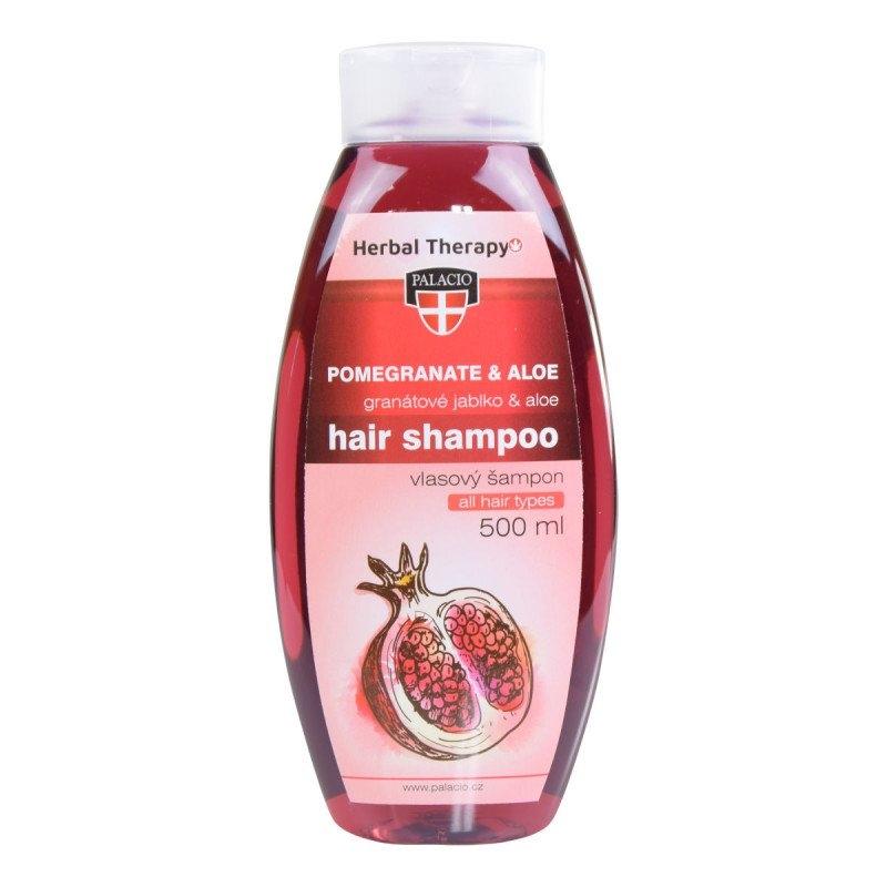 Granátové jablko s Aloe vera šampon pro všechny typy vlasů 500 ml