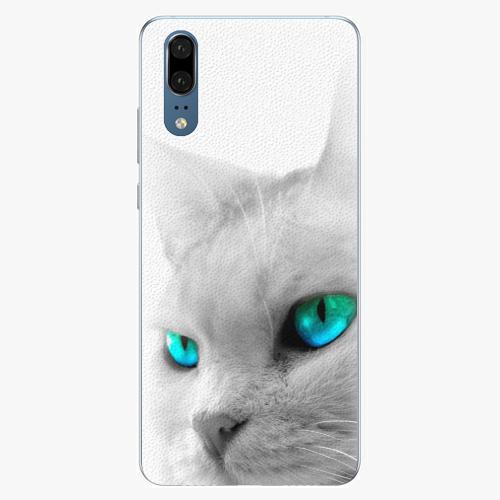 Silikonové pouzdro iSaprio - Cats Eyes - Huawei P20