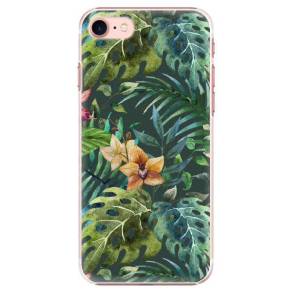 Plastové pouzdro iSaprio - Tropical Green 02 - iPhone 7
