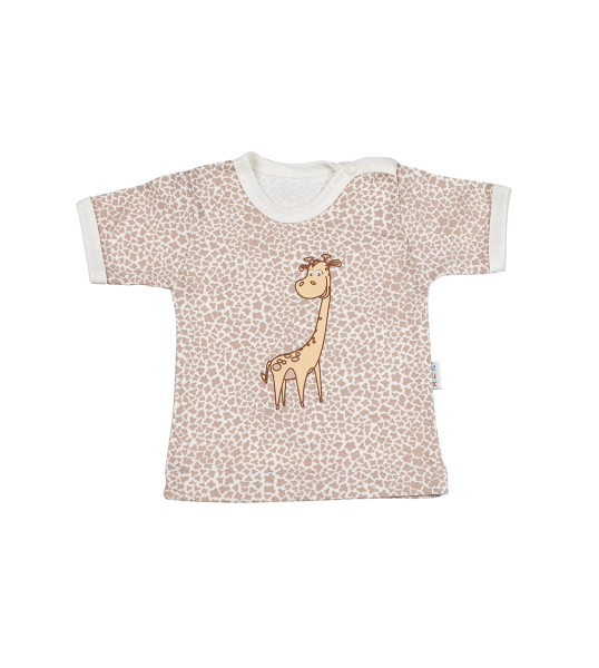 Mamatti Tričko kr. rukáv - Žirafka