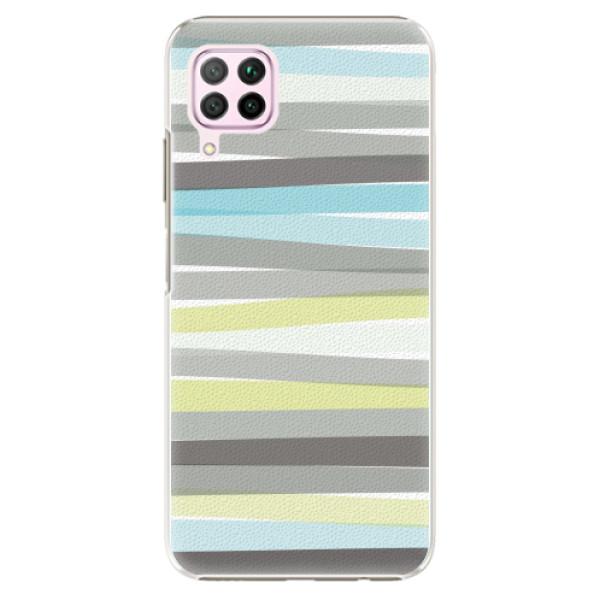 Plastové pouzdro iSaprio - Stripes - Huawei P40 Lite