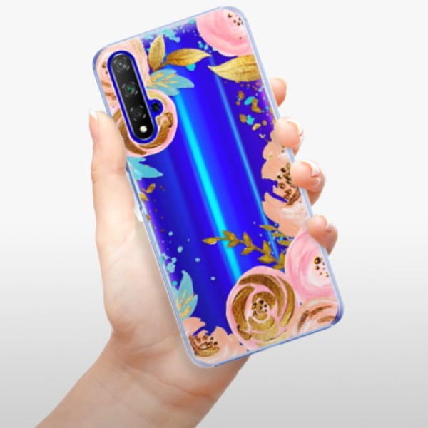 Plastové pouzdro iSaprio - Golden Youth - Huawei Honor 20