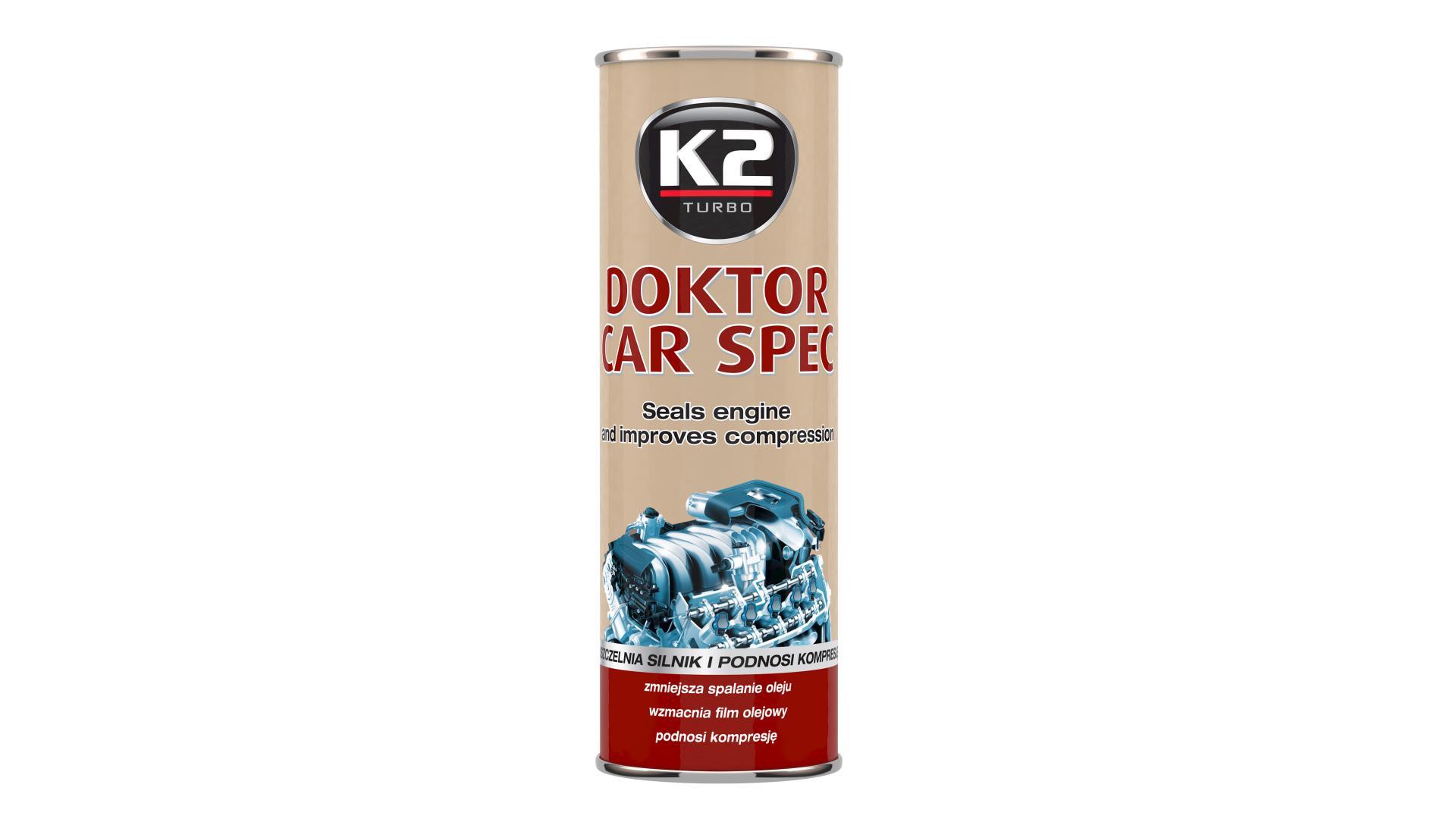 K2 Ošetrenie motora - Doktor Car Spec 443ml