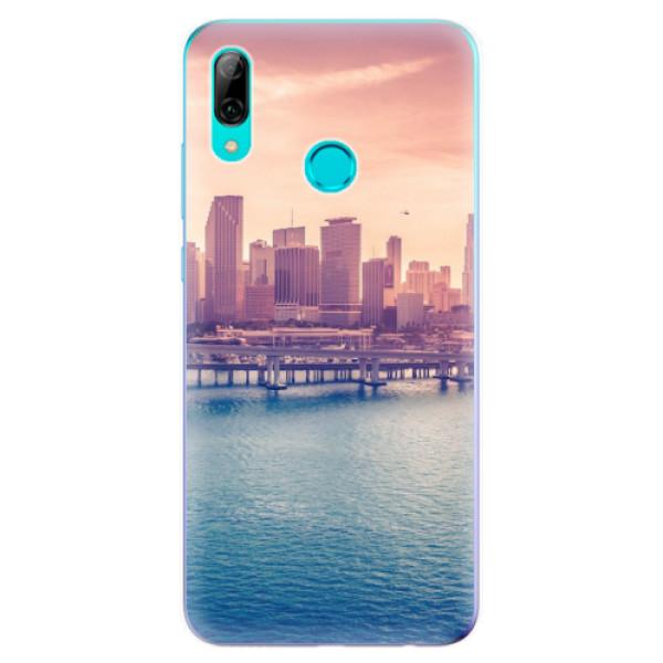 Odolné silikonové pouzdro iSaprio - Morning in a City - Huawei P Smart 2019