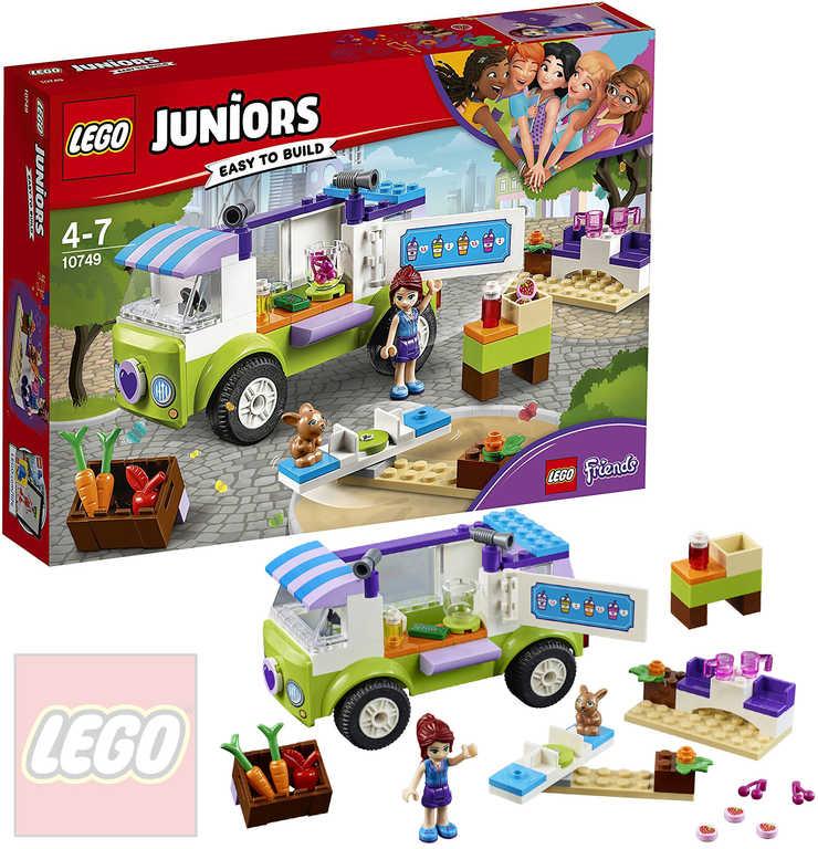 LEGO JUNIORS Mia a trh s biopotravinami STAVEBNICE 10749