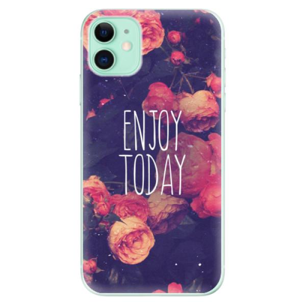 Odolné silikonové pouzdro iSaprio - Enjoy Today - iPhone 11