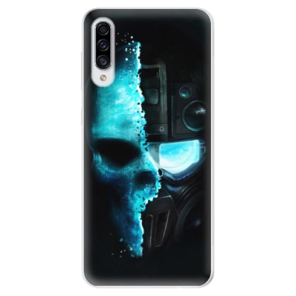 Odolné silikonové pouzdro iSaprio - Roboskull - Samsung Galaxy A30s