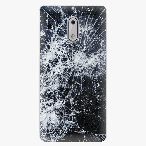 Plastový kryt iSaprio - Cracked - Nokia 6