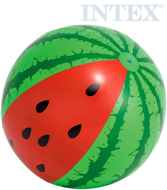 INTEX Míč nafukovací meloun 107cm do vody