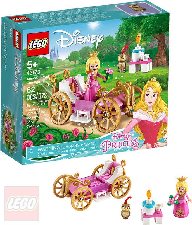 LEGO PRINCESS Šípková Růženka a královský kočár 43173 STAVEBNICE