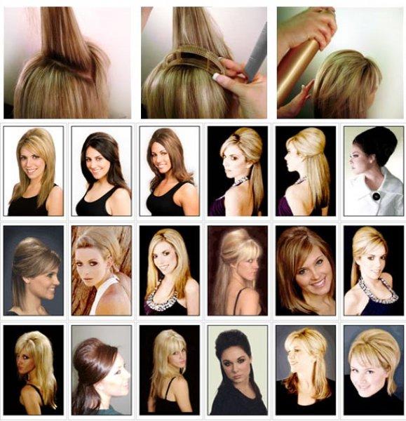Bumpits - Vlasové vsuvky