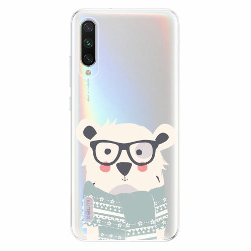 Silikonové pouzdro iSaprio - Bear with Scarf - Xiaomi Mi A3