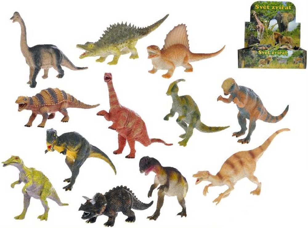 Dinosaurus pravěký ještěr plastový 14cm různé druhy