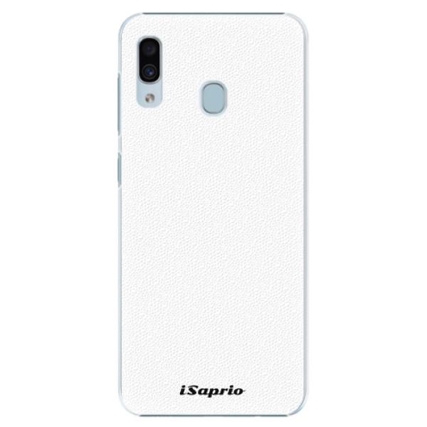Plastové pouzdro iSaprio - 4Pure - bílý - Samsung Galaxy A30
